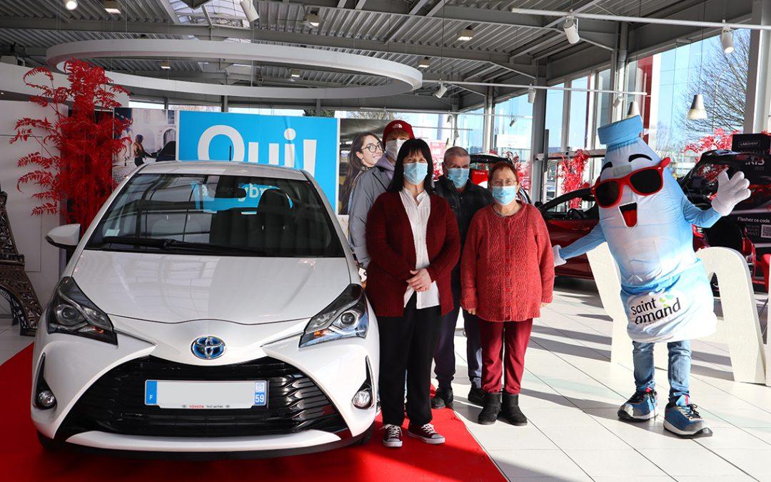 Concours Saint amand Toyota Yaris